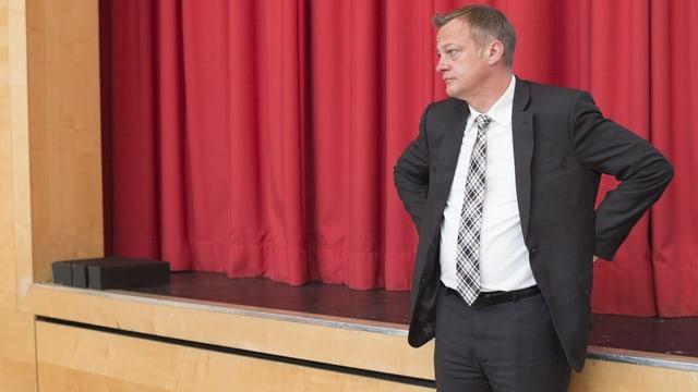 Martin Landolt am Wahltag 2015