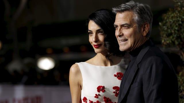 George Clooney hat mit seiner 38-jährigen Amal die Frau seines Lebens gefunden.