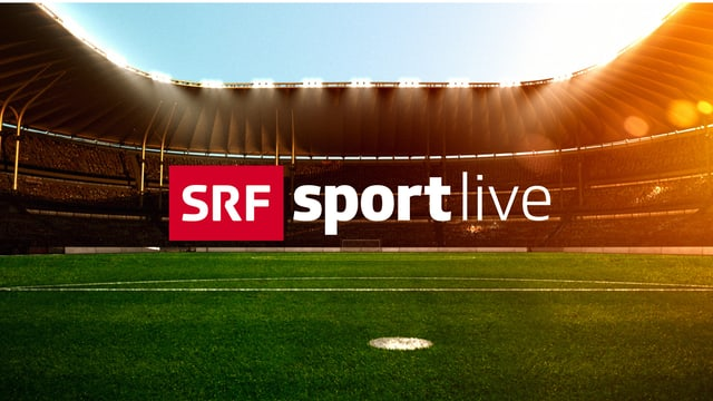Symbolbild Stadion mit SRF-Sport-Live-Logo