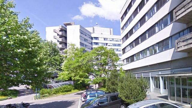 Aussenansicht des Berner Zieglerspitals.