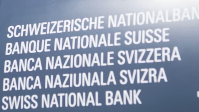 Logo da la Banca naziunala.