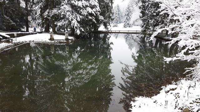 Selbst in tiefen Lagen der Nordwestschweiz war es am 18. März weiss.
