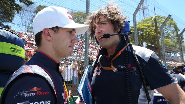 Pierre Gasly darf seinen Platz im Toro-Rosso-Cockpit behalten.