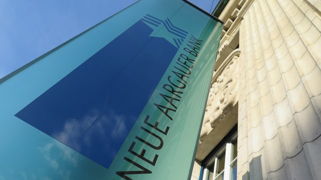 Schild Neue Aargauer Bank