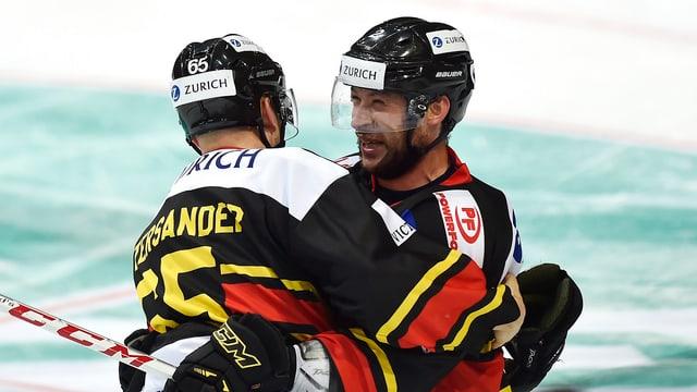 Berns Beat Gerber (rechts) und Ramon Untersander.