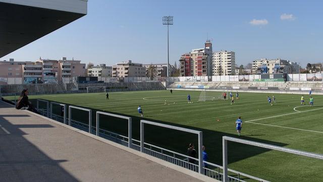 Das Stadion in Wil.