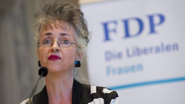 FDP-Kantonsrätin Carmen Walker Späh.