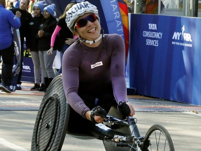 Seit 10 Marathons unbesiegt - Manuela Schär mit Weltrekord
