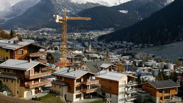 Die Gemeinde Davos.