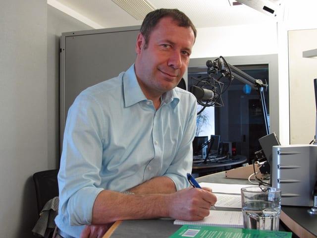 Porträtbild von Othmar Filliger Regierungsratskandidat der CVP Nidwalden.