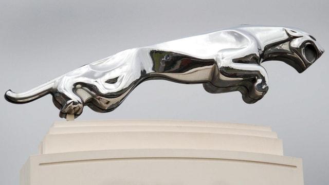 Silberner Jaguar