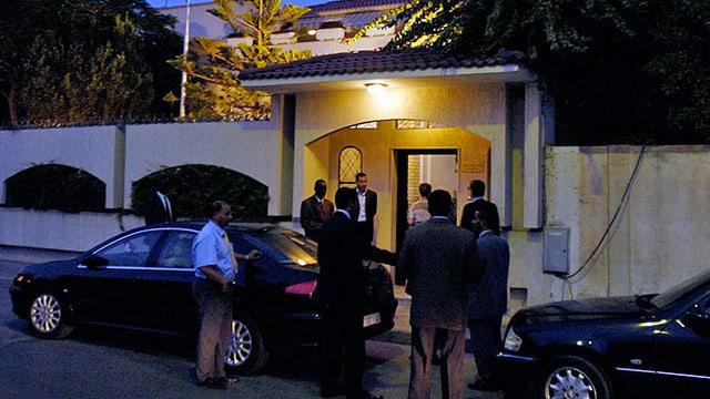 Archivbild der Schweizer Botschaft in Libyen. (keystone/archiv)