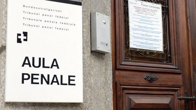 Strafgericht Bellinzona.