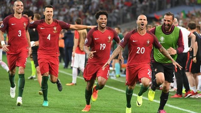 Giugaders dal Portugal suenter la victoria.
