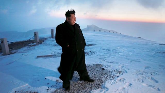 Staatschef Kim Jong Un