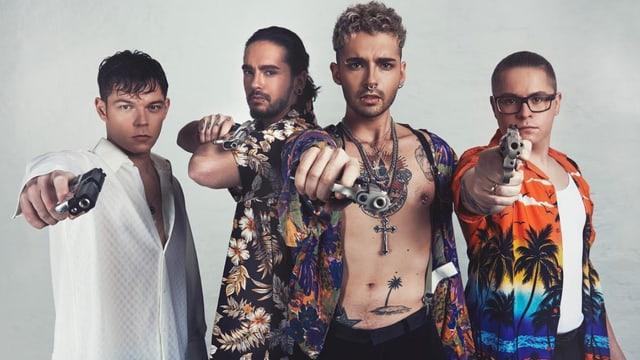 Tokio Hotel wollen an die Sparschweine ihrer Fans.