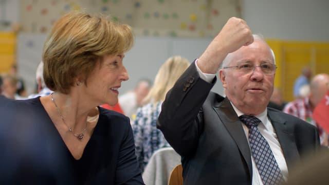Silvia und Christoph Blocher.
