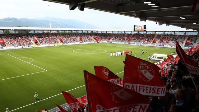 Thun darf die EL-Heimspiele im heimischen Stadion austragen.