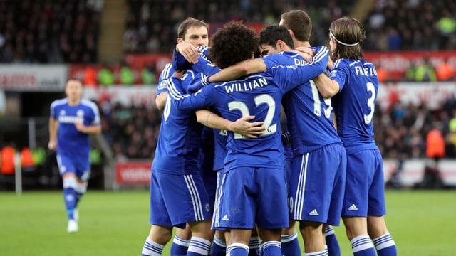 Leader Chelsea liess gegen Swansea nichts anbrennen.