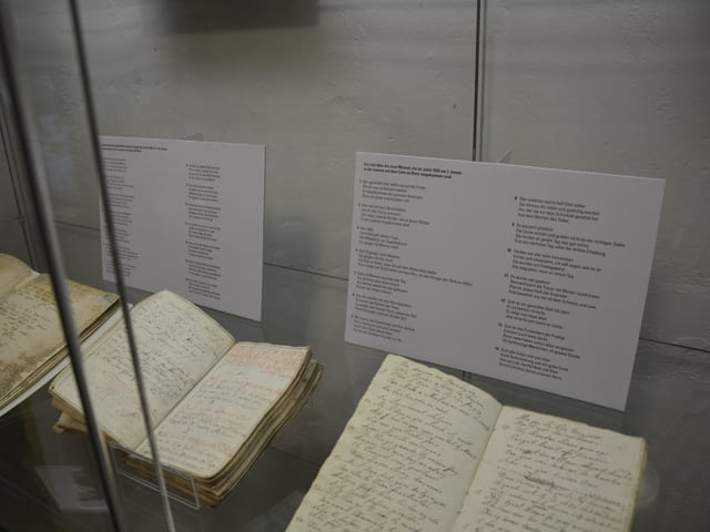 Las chanzuns da cordoli per las unfrendas d'ina lavina or da l'onn 1652 a Dutgen sur Valandau.