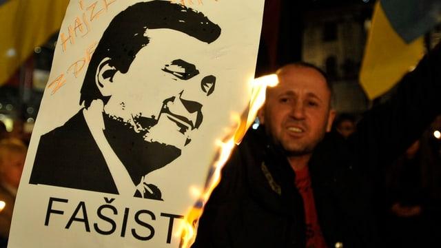 Wo ist Janukowitsch?