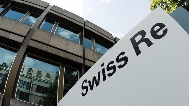 La sedia principala da Swiss Re a Turitg.