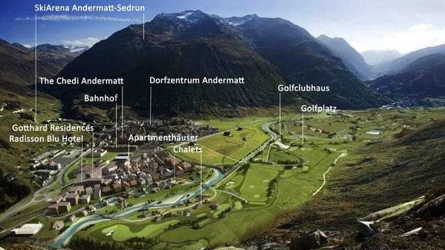 Plans per Andermatt.