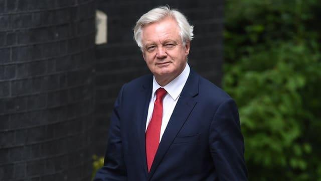 Der Brexit-Minister David Davis.