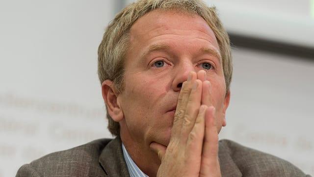 Nick Beglinger, Präsident des Verbandes Swiss Cleantech.