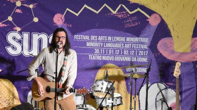 «Tumasch è» represchenta la Rumantschia tar il festival SUNS 2017.