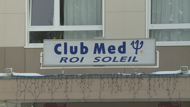 tavla dal hotel dal Club Med