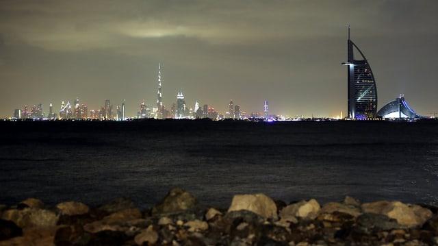 La citad da Dubai.