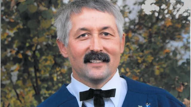 Thomas Bucher ist im Trachtenverein engagiert.