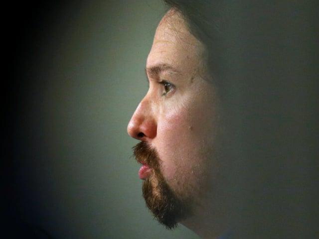 Porträt von Pablo Iglesias.