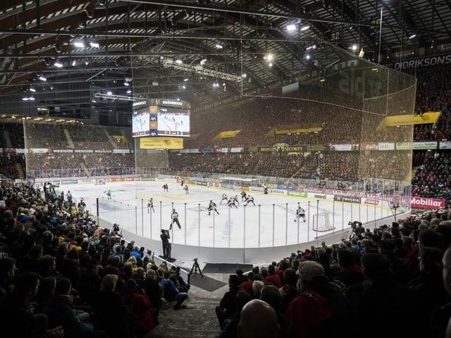 Die Postfinance-Arena in Bern.