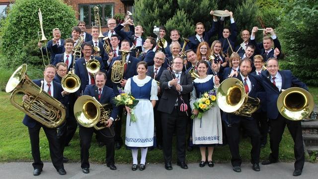 Foto der Brass Band Harmonie Neuenkirch