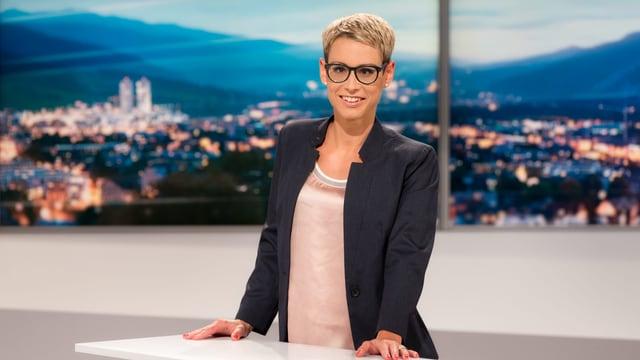 Moderatorin der Sendung «Telesguard»: Corina Schmed