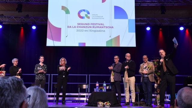 Clau Scherrer annunzia a la fin dal festival a Trun il proxim festival