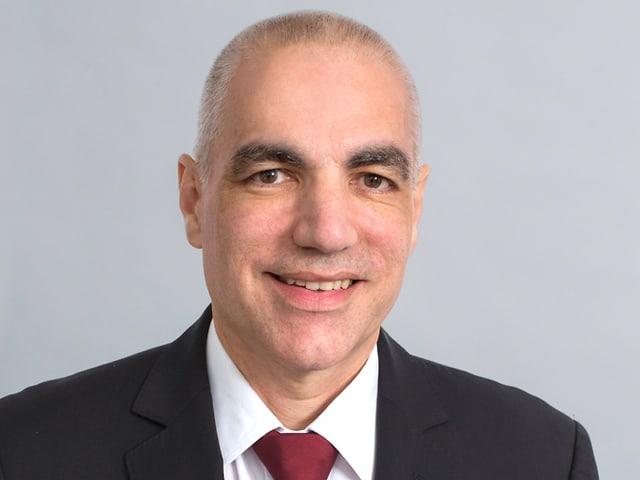 Portrait des Swico-Geschäftsführers Jean-Marc Hensch