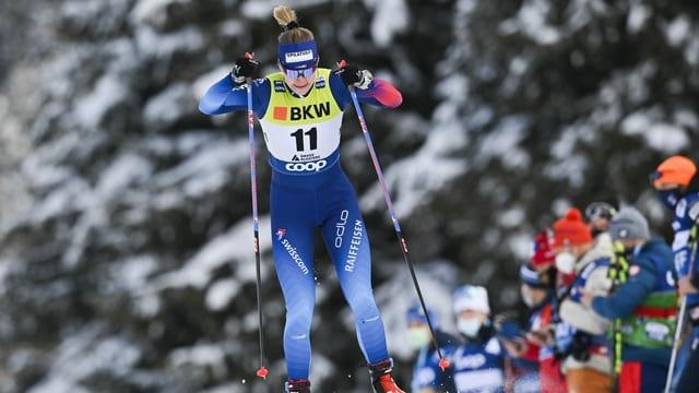 Nadine Fähndrich a las cursas da Tavau Nordic.
