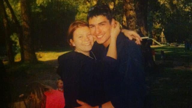 Sandra und Michael im Sommer 1997 in Bern an der Aare.
