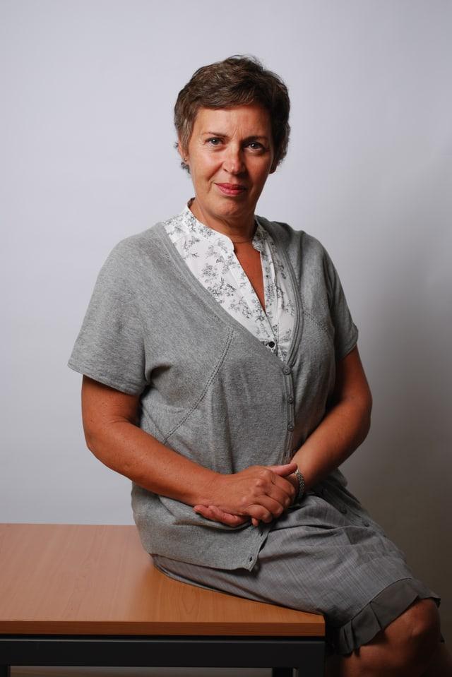 Portrait von Pauline de Vos.