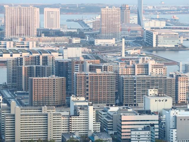 Das olympische Dorf in Tokio.