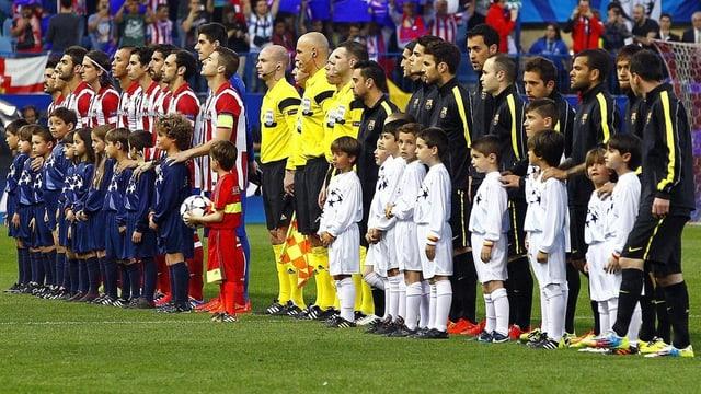 Barcelona und Atletico Madrid ermitteln im Direktduell den spanischen Meister.