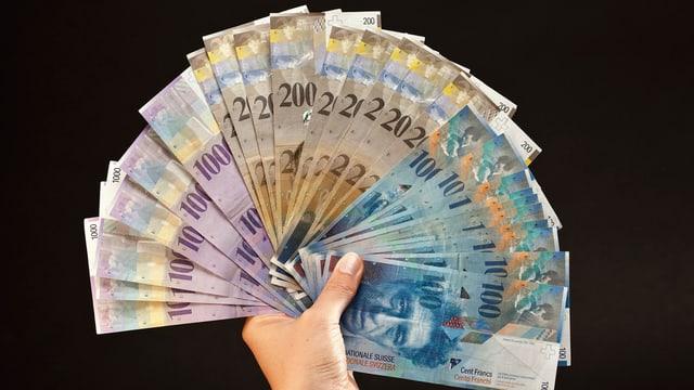 Ein Bündel Banknoten