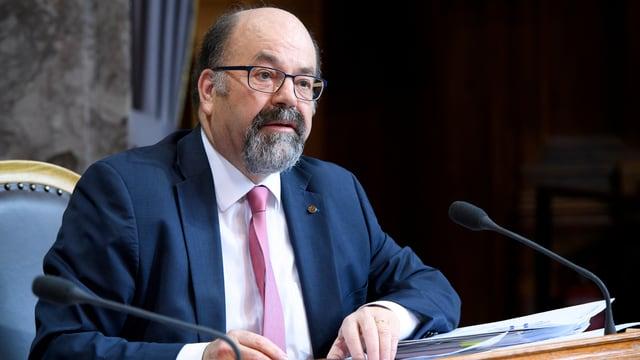 FDP-Ständerat Joachim Eder