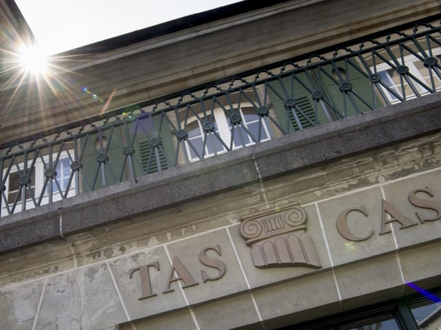 Aussenansicht des TAS-Gebäudes.