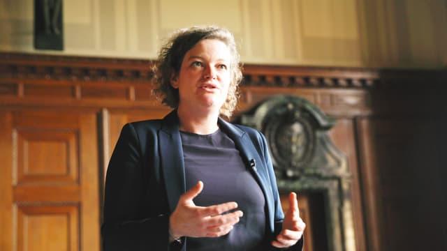 Die Historikerin Nina Lutz.