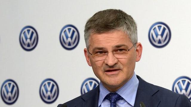 Il schef da la Volkswagen Gruop of America, Michael Horn.