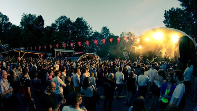 Konzert auf dem Sonnenberg in Kriens.